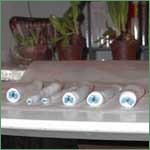 Cernit Sommerfuglcane trin 13: Rul pølsen til stænger