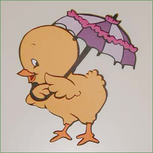 Kylling med parasol af anita ballisager
