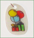 Krympeplast vedhæng - gaver