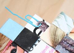 Nål til flettede tasker