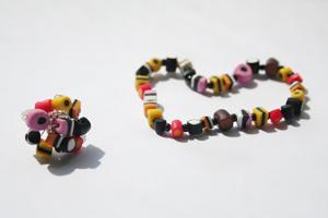 Konfekt smykker af cernit