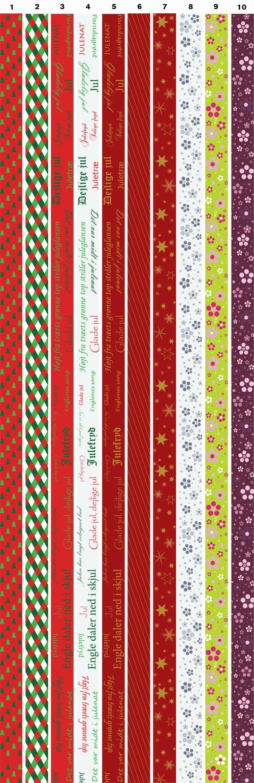Billige flettestrimler til julestjerner