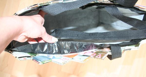 Flettet computertaske / skuldertaske