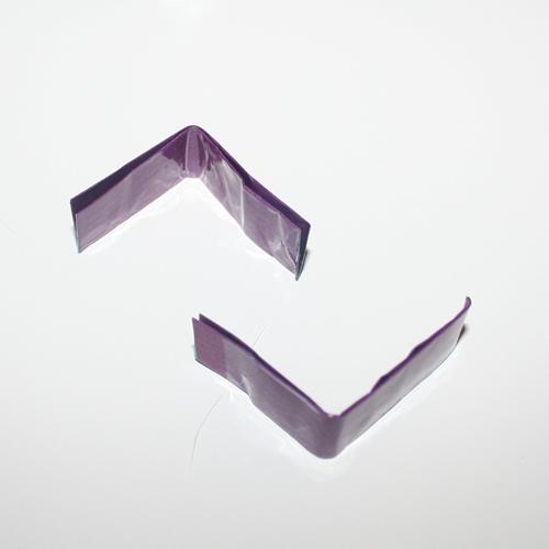 To halve papirlapper