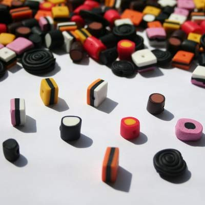 Lakridskonfekt-perler
