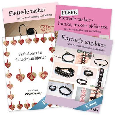 E-bøger om flettede tasker - lær at flette tasker
