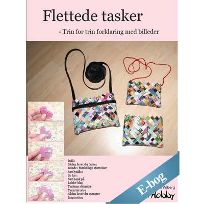 E-bog - Lær at flette tasker af papir - candy wrapper bags