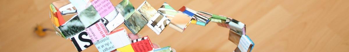 Header flettede tasker - sy bunden sammen