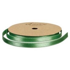 Satinbånd 6mm 10m lysegrøn