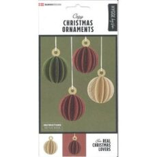 Vivi Gade Traditional Christmas Ornaments 6 stk.