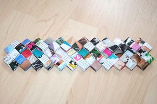 Flettede tasker - flet en flad bund der er 5 tern bred