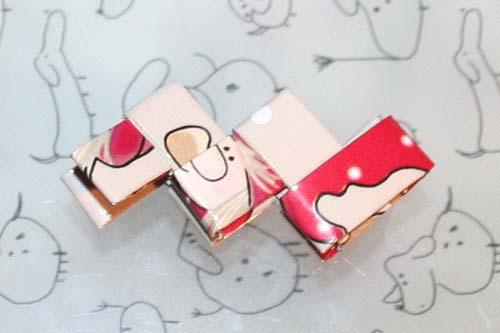 Flettede tasker - kvadratisk bund - flet en ramme