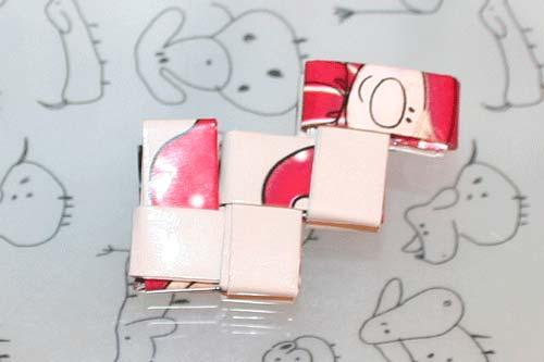 Flettede tasker - kvadratisk bund - flet en ramme - hjørnet