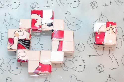 Flettede tasker - kvadratisk bund af to stykker