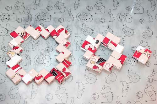 Flettede tasker - kvadratisk bund af tre stykker