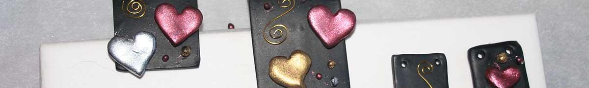Cernitsmykker header - lav flotte smykker af Cernit - pynt med Perfect Pearls, Resin og metaltråd