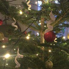 Porcelæns serpentiner til juletræet